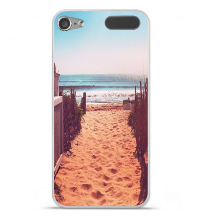 Coque en silicone Apple iPod Touch 5 / 6 - Chemin de plage