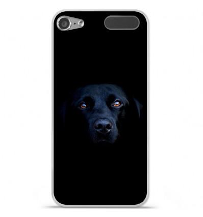 Coque en silicone Apple iPod Touch 5 / 6 - Chien noir