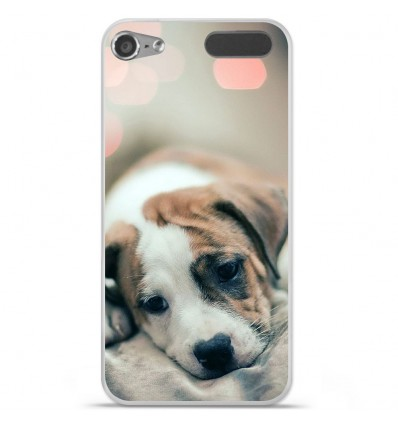 Coque en silicone Apple iPod Touch 5 / 6 - Chiot rêveur