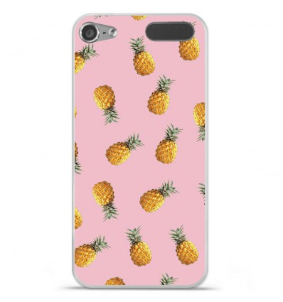 Coque en silicone Apple iPod Touch 5 / 6 - Pluie d'ananas