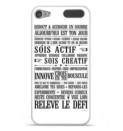 Coque en silicone Apple iPod Touch 5 / 6 - Citation 11