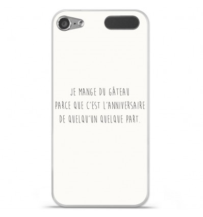 Coque en silicone Apple iPod Touch 5 / 6 - Citation 12