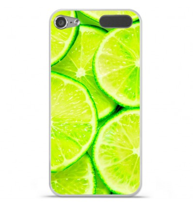 Coque en silicone Apple iPod Touch 5 / 6 - Citron
