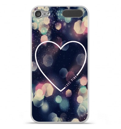 Coque en silicone Apple iPod Touch 5 / 6 - Coeur Love