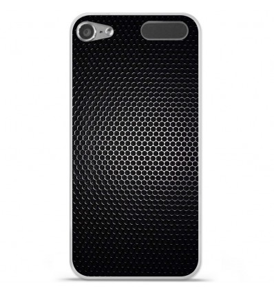 Coque en silicone Apple iPod Touch 5 / 6 - Dark Metal