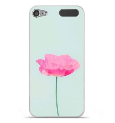 Coque en silicone Apple iPod Touch 5 / 6 - Fleur Rose
