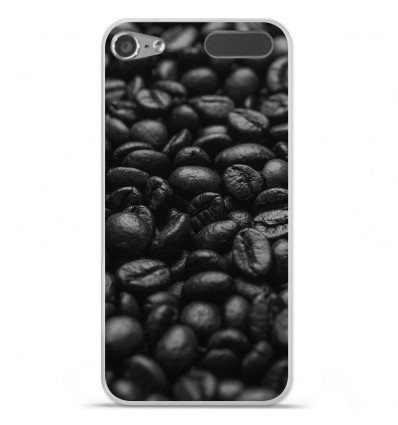 Coque en silicone Apple iPod Touch 5 / 6 - Grains de café
