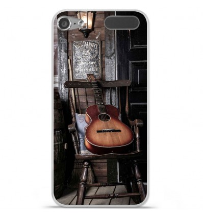 Coque en silicone Apple iPod Touch 5 / 6 - Guitare