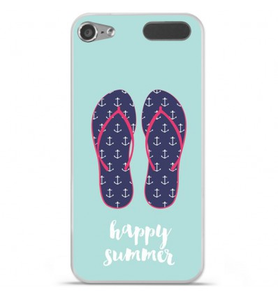 Coque en silicone Apple iPod Touch 5 / 6 - Happy summer