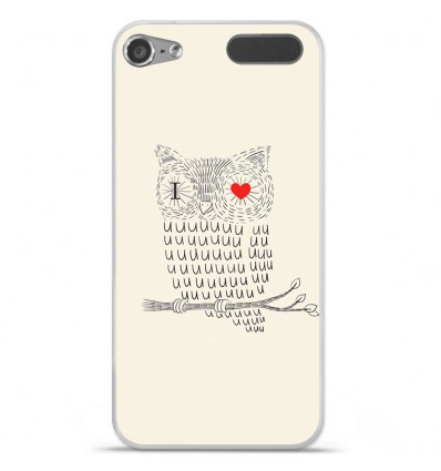 Coque en silicone Apple iPod Touch 5 / 6 - I Love Hiboux