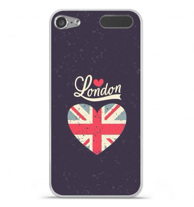 Coque en silicone Apple iPod Touch 5 / 6 - I love London