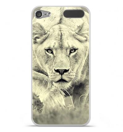 Coque en silicone Apple iPod Touch 5 / 6 - Lionne