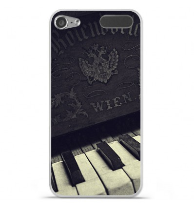 Coque en silicone Apple iPod Touch 5 / 6 - Old piano