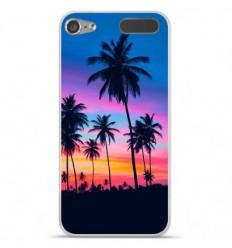 Coque en silicone Apple iPod Touch 5 / 6 - Palmiers colorés