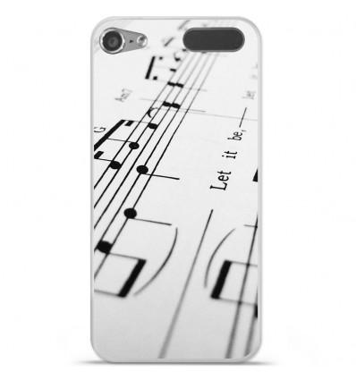 Coque en silicone Apple iPod Touch 5 / 6 - Partition de musique