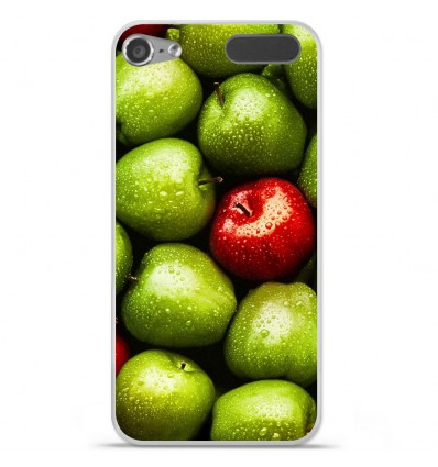 Coque en silicone Apple iPod Touch 5 / 6 - Pommes
