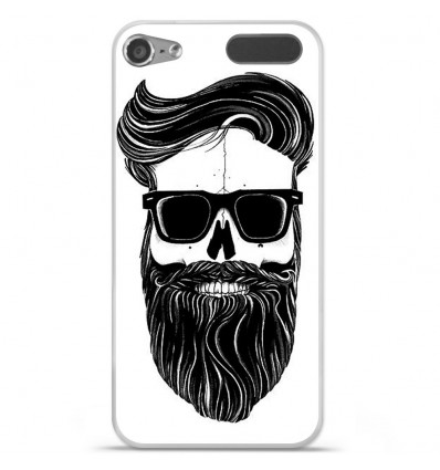 Coque en silicone Apple iPod Touch 5 / 6 - Skull Hipster