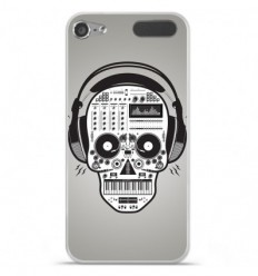 Coque en silicone Apple iPod Touch 5 / 6 - Skull Music