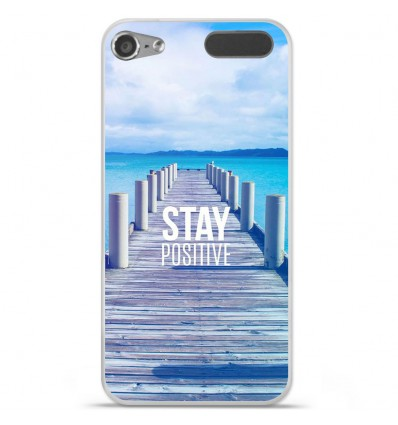 Coque en silicone Apple iPod Touch 5 / 6 - Stay positive