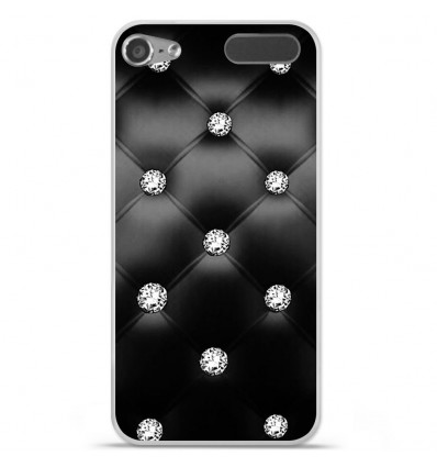 Coque en silicone Apple iPod Touch 5 / 6 - Strass