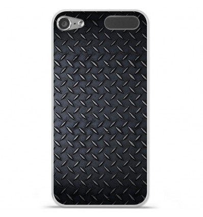 Coque en silicone Apple iPod Touch 5 / 6 - Texture metal