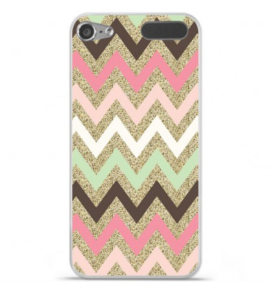 Coque en silicone Apple iPod Touch 5 / 6 - Texture rose