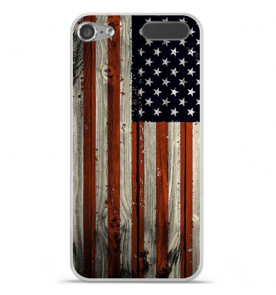Coque en silicone Apple iPod Touch 5 / 6 - USA Hood