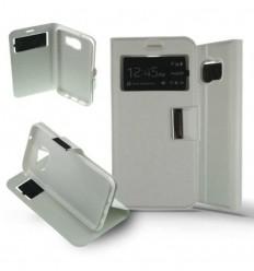 Etui Folio Samsung Galaxy S7 Edge - Blanc