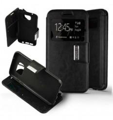 Etui Folio Samsung Galaxy S7 Edge - Noir