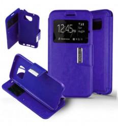Etui Folio Samsung Galaxy S7 Edge - Violet