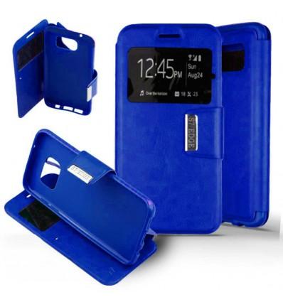 Etui Folio Samsung Galaxy S7 - Bleu