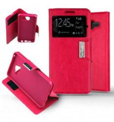 Etui Folio Samsung Galaxy A3 2016 - Rose Fushia