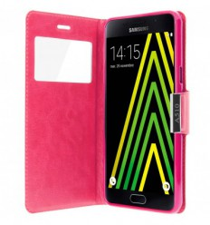 Etui Folio Samsung Galaxy A5 2016 - Rose Fushia