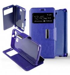 Etui Folio Huawei P9 - Bleu