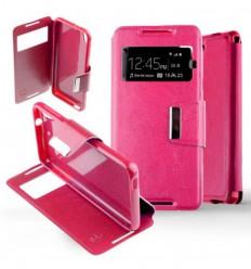 Etui Folio HTC Desire 626 - Rose Fushia