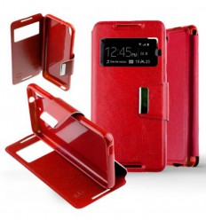 Etui Folio HTC Desire 626 - Rouge