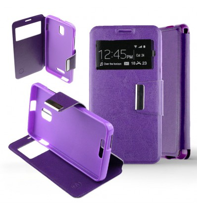 Etui Folio Alcatel One Touch Pop Star - Violet
