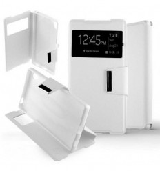 Etui Folio Sony Xperia Z5 Compact - Blanc