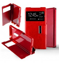 Etui Folio Sony Xperia Z5 Compact - Rouge