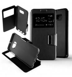 Etui Folio Samsung Galaxy S6 Edge Plus - Noir