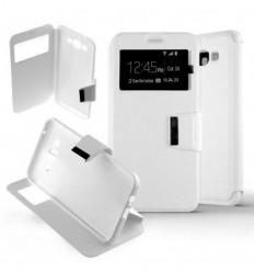 Etui Folio Samsung Galaxy J7 - Blanc