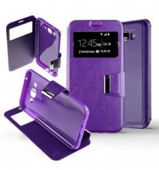 Etui Folio Samsung Galaxy J7 - Violet