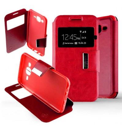 Etui Folio Samsung Galaxy J5 2015 - Rouge