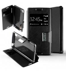 Etui Folio Sony Xperia M4 / M4 Aqua - Noir