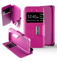 Etui Folio Apple iPhone 5C - Rose Fushia