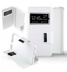 Etui Folio Huawei P8 Lite - Blanc