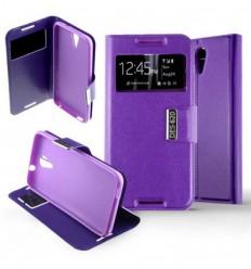 Etui Folio HTC Desire 620 - Violet