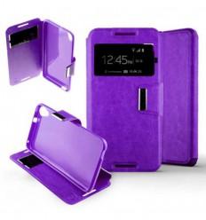 Etui Folio HTC Desire 820 - Violet