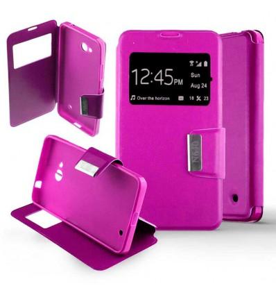 Etui Folio Nokia Lumia 640 - Rose Fushia