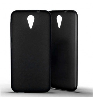 Coque HTC Desire 620 Silicone Gel givré - Noir